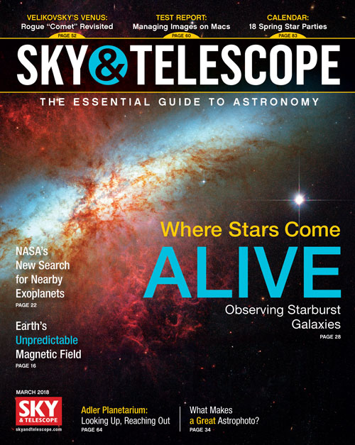 Sky & Telescope Magazine - March 2018