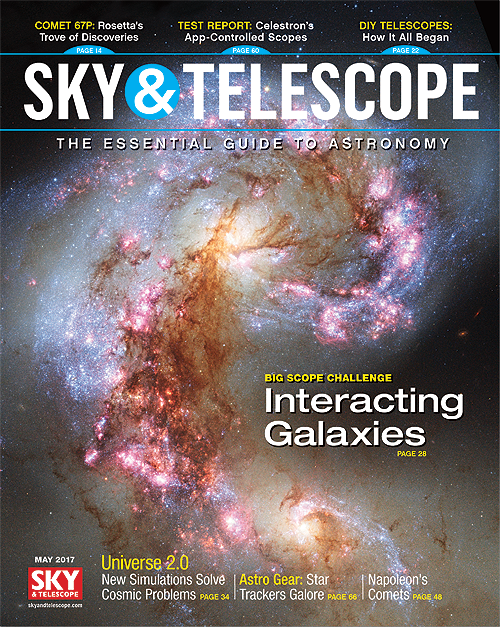 Sky & Telescope Magazine - May 2017