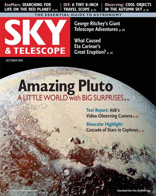 Sky & Telescope October 2016