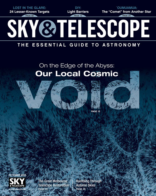 Sky & Telescope Magazine - October 2018