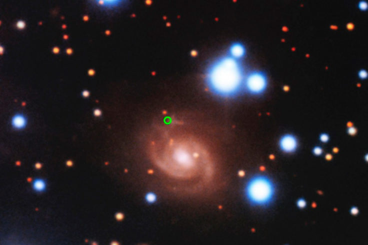 Host Galaxy of a Radio Flash
