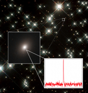 A fast radio burst's host galaxy