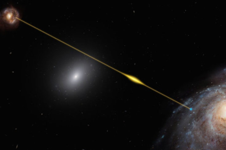 Fast radio burst as probe of a galaxy halo