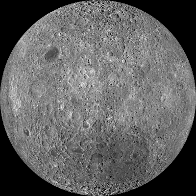 Mosaic of the Moon's far side