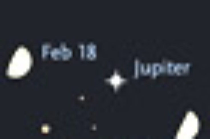 The Moon visits Jupiter