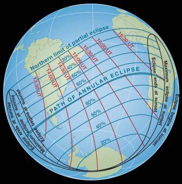 Path of Feb 2017 annular eclipse