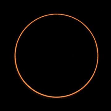 February 2017 annular mideclipse