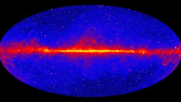 Gamma-ray sky as seen by Fermi space telescope