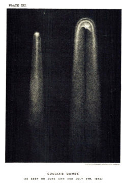 Coggia's Comet (sketch)