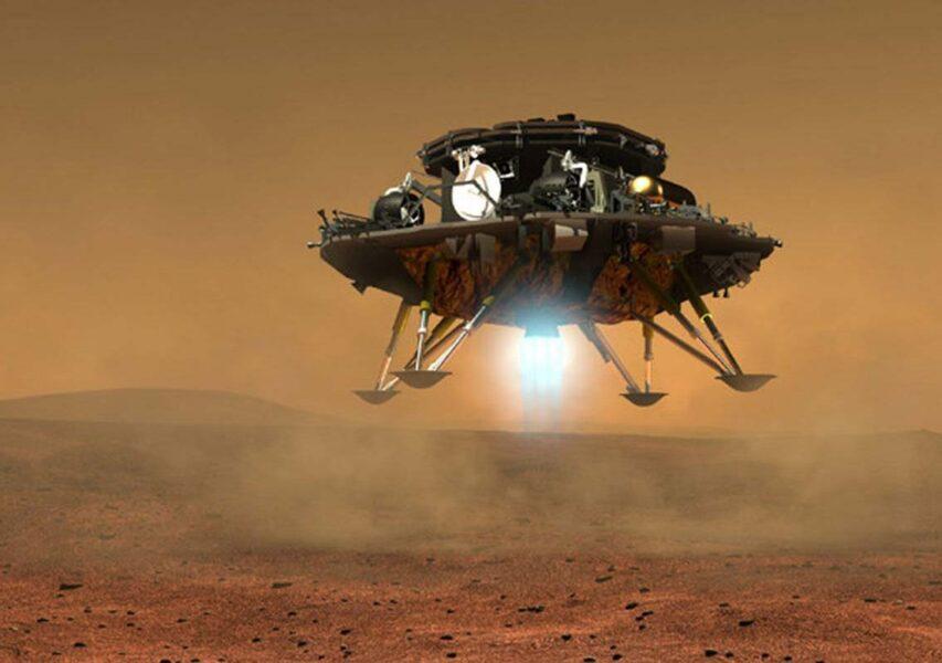 China's Huoxing 1 lander