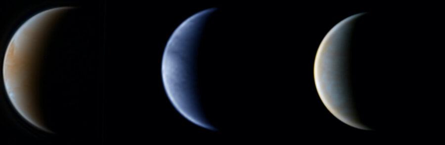 Amateur images of Venus
