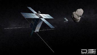 FireFly, asteroid-prospecting spacecraft