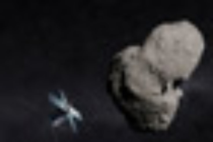 FireFly approaches asteroid