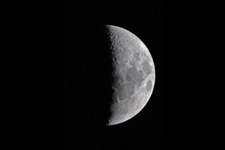 First-quarter Moon