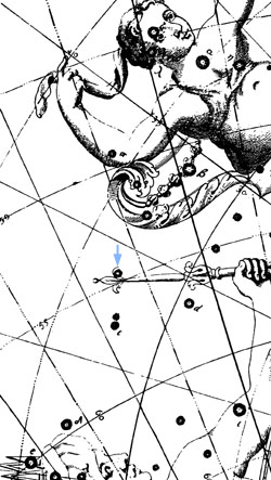 Flamsteed's mystery star in Cassiopeia