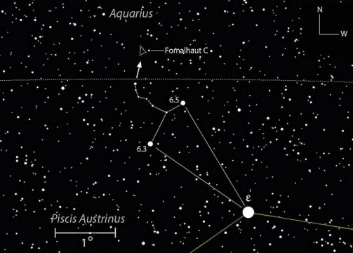 Hop, skip, and a jump takes you to the fringe of Fomalhaut's domain