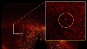 One of the first exoplanets imaged is Fomalhaut b — the tiny speck enshrouded in a ring of dust. NASA / ESA / P. Kalas / J. Graham / E. Chiang / E. Kite / M. Clampin / M. Fitzgerald / K. Stapelfeldt / J. Krist