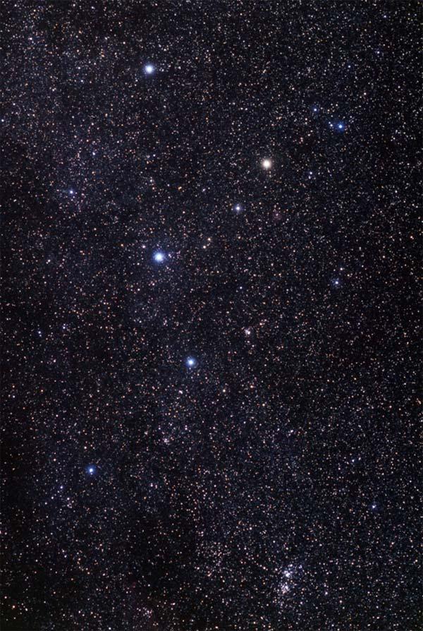 Cassiopeia and Double Cluster. Akira Fujii photo.