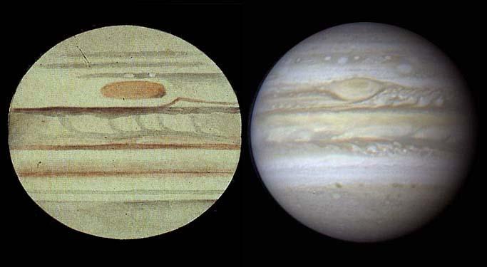 Jupiter's Great Red Spot is shrinking