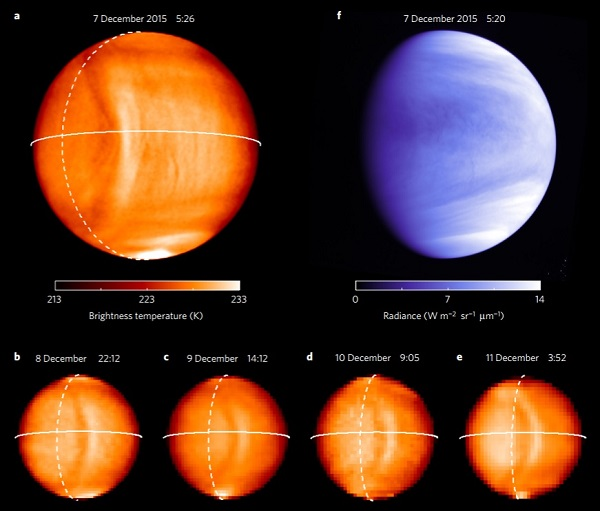 Venus gravity wave