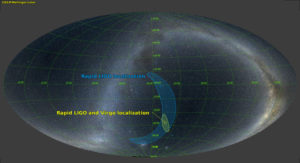 source region of GW170814