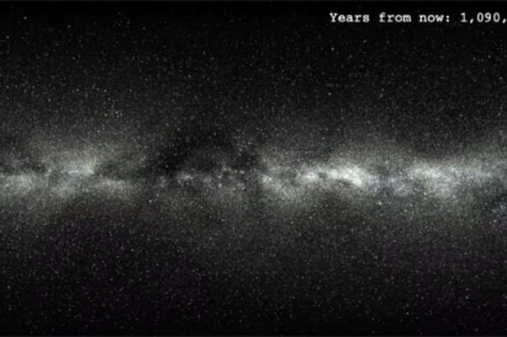Gaia video of 5 million years
