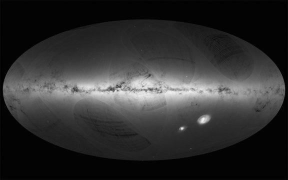 Gaia all-sky map