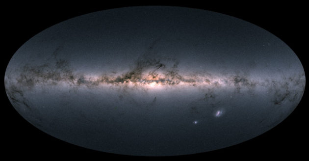 Gaia's map of 1.7 billion stars in the Milky Way and beyond