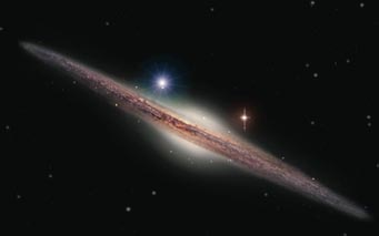 Art of galaxy ESO 243-49 and HLX-1