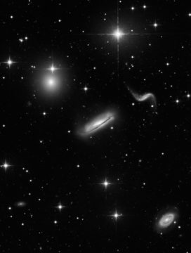 Monochrome Galaxies