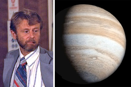 Gehrels and Jupiter from Pioneer 11
