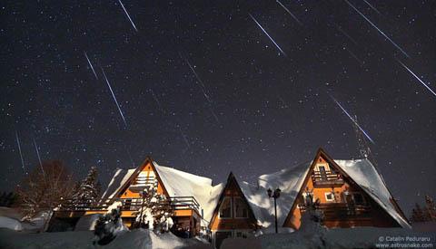 Geminid Meteors by Catalin Padraru