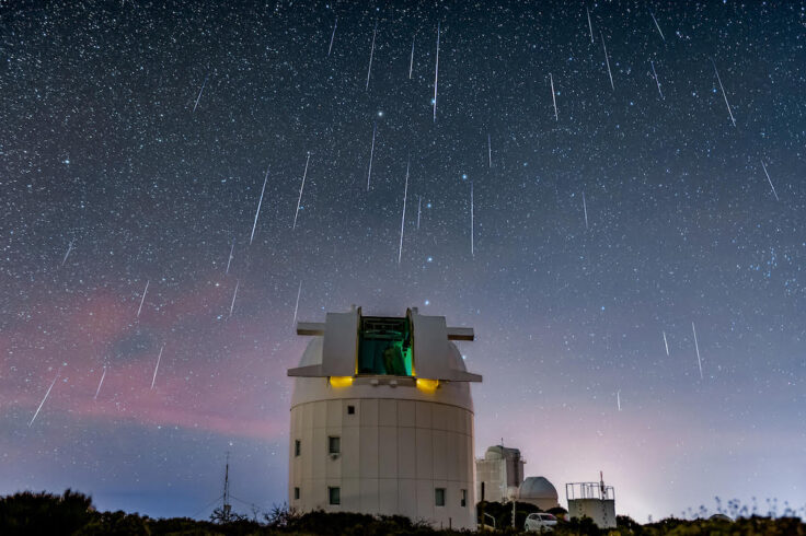 Geminids from Tenerife