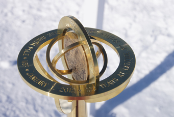 geographical South Pole marker