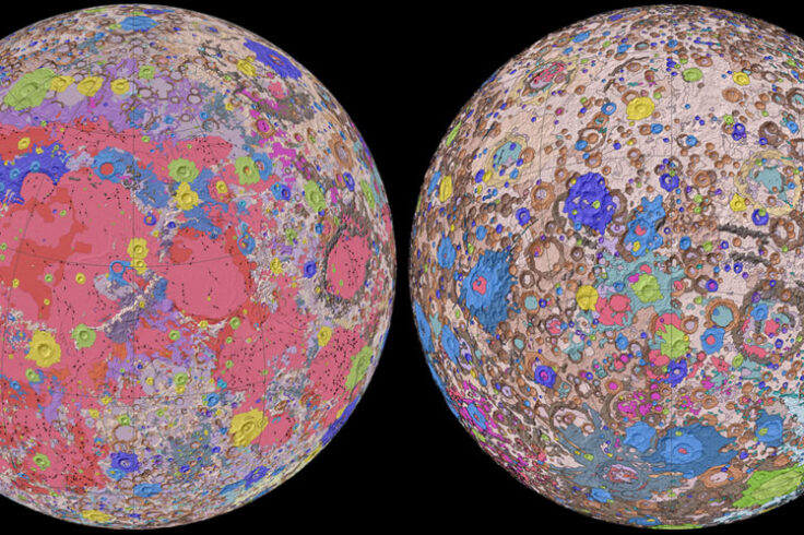 USGS Geologic Map of the Moon