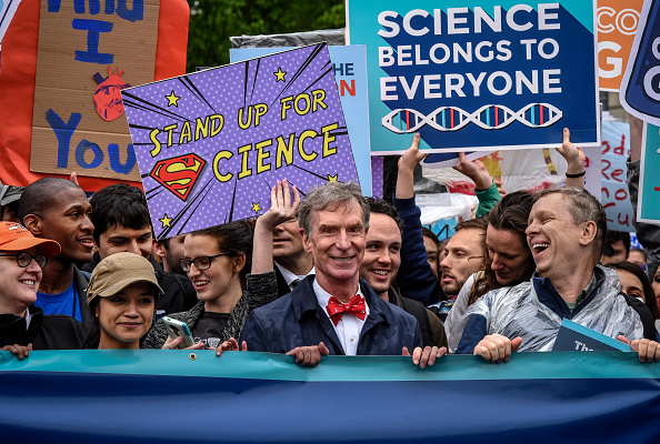 Bill Nye with the March for Science