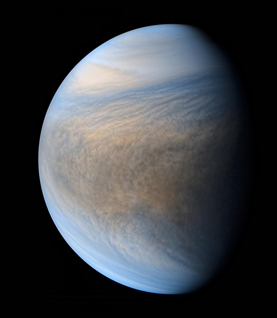Akatsuki's Amazing Views of Venus - Sky ...
