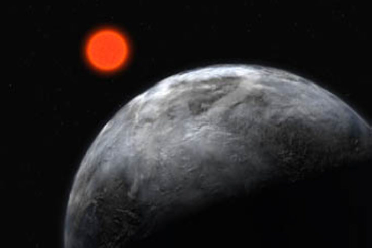 Super-Earth around Gliese 581