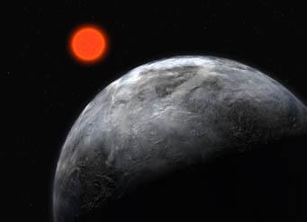 Super-Earth around Gliese 581
