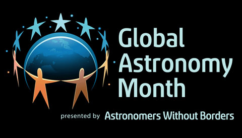 Global Astronomy Month banner