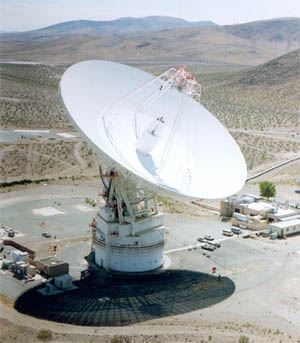 70-m Goldstone tracking antenna