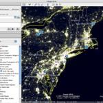 Northeast at Night