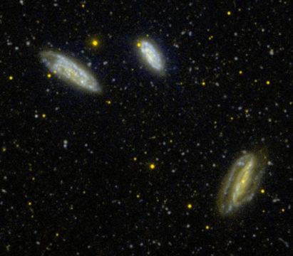 Grus quartet of galaxies