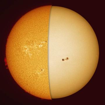 3D Sun slices