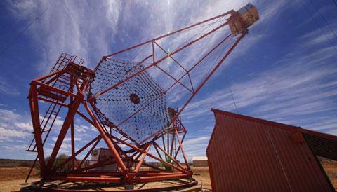 HESS Telescope in Namibia