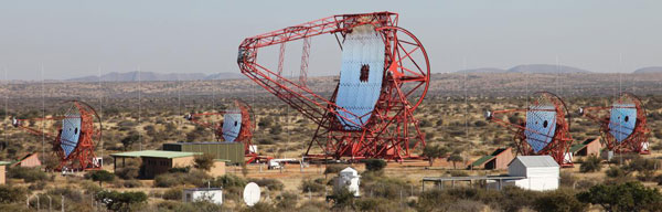 HESS telescope array