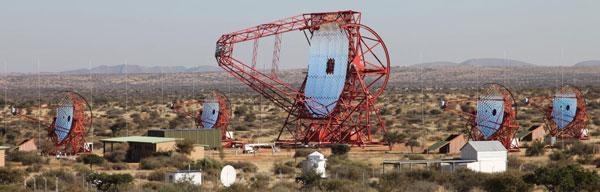 HESS telescope array