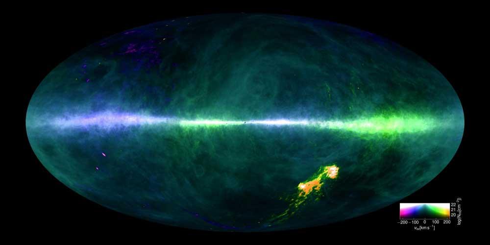 HI4PI maps Milky Way's neutral hydrogen