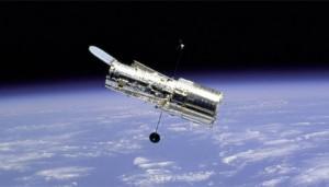 Hubble Space Telescope in orbit, NASA