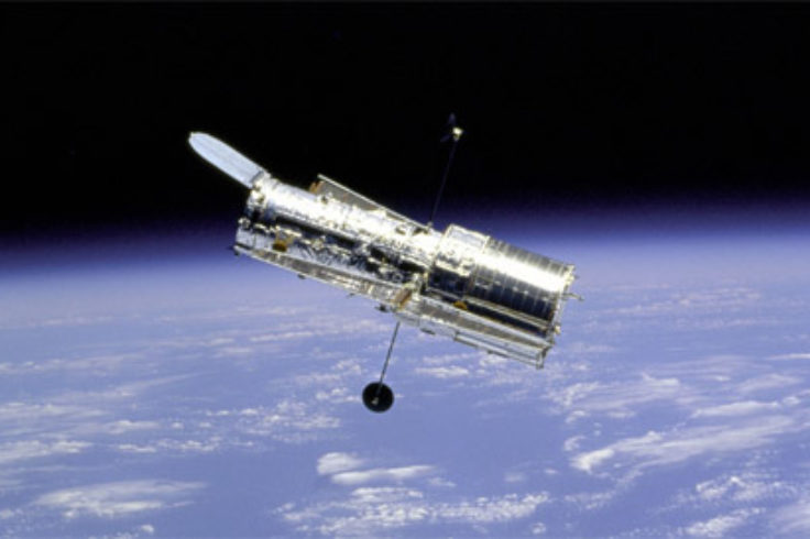 Hubble Space Telescope in orbit, NASA